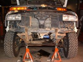 Chevy S-10/GMC Sonoma Front Bumper Installation Guide   AEDOFAB
